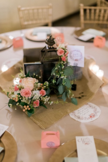 Lovely Lantern Centerpieces