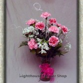 Lovely lasting carnations long stemmed