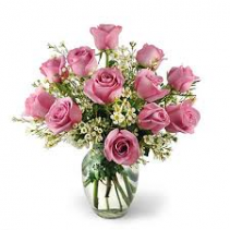 Lovely Lavendar Roses Rose Arrangement