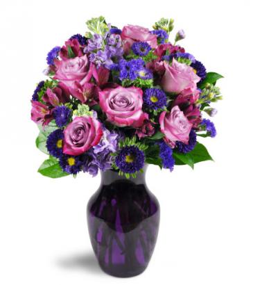 Lovely Lavender All-Around Floral Arrangement