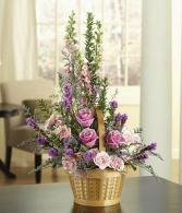 Lovely Lavender Basket