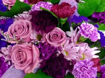 Lovely Lavender Bouquet Cut Flower Bouquet