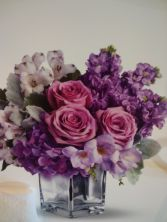 Lovely lavender Brthday flowers