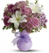 Precious Purples Floral Bouquet