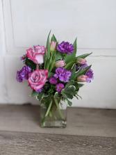 Lovely Lavender Fresh Arrangement