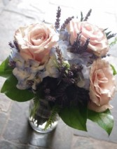 Lovely Lavender  Mason Jar Arrangement