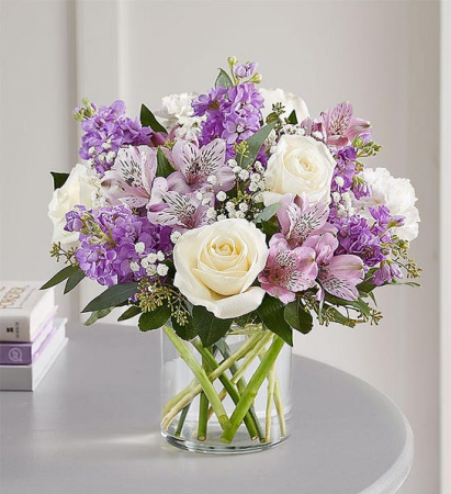 Lovely Lavender Medley Medium Pastel Arrangement