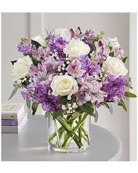Lovely Lavender Medley Valentine's Day Bouquet