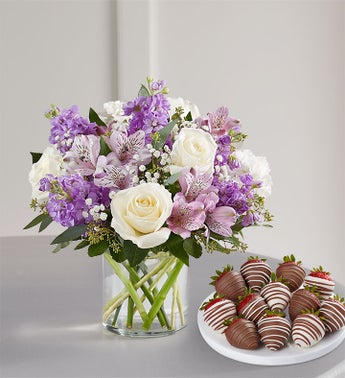 Lovely Lavender Medley™ with Strawberries
