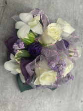 LOVELY LAVENDER PROM CORSAGE