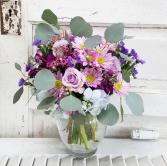 Lovely Lavender Vase Arrangement