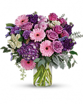 LOVELY LAVENDER Vase Arrangement in Longview, Texas | ANN'S PETALS