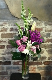 Lovely Lavender Vased Arrangement