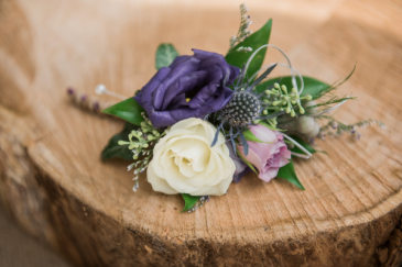 Lovely Lavenders  Boutonniere