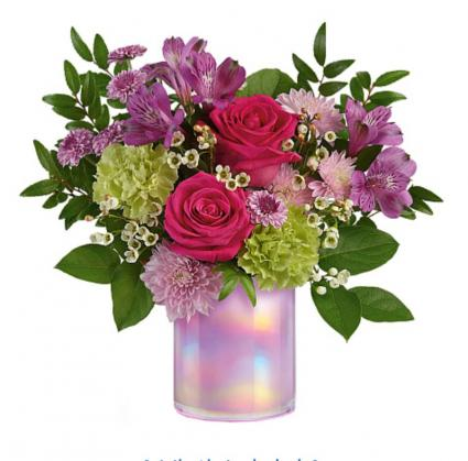 Lovely lilac bouquet  Vase