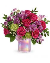 Lovely Liliac Teleflora Fresh Arrangement