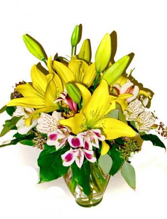 Lovely Lillies! Floral Arrangement