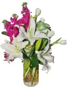LOVELY MOMENTS Mason Jar Flowers