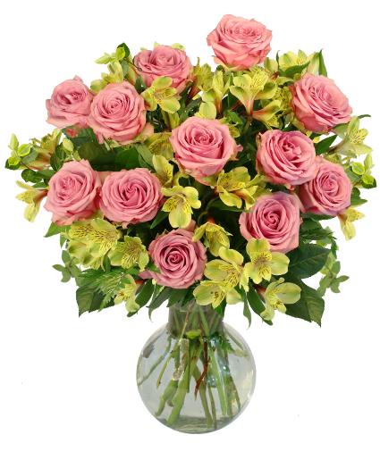 Lovely Perfection Flower Arrangement