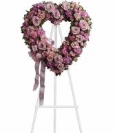 Lovely Pink Heart Easel