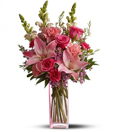 Lovely Pinks Vase