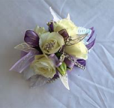 Lovely Purple Prom Corsage