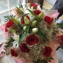 Lovely Red Hong Kong Style Roses