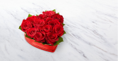 Lovely Red Rose Heart ™ Box