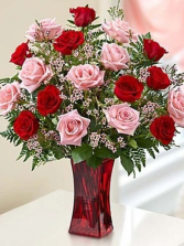 LOVELY ROSE ELEGANT AND MIXTURE FLOWERS