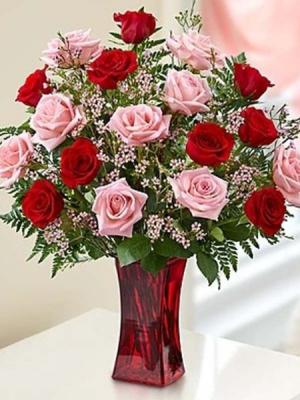 LOVELY ROSE ELEGANT AND MIXTURE FLOWERS in Houston, TX | Bella Flori