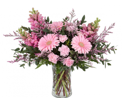 Lovely shades of pinks Vase