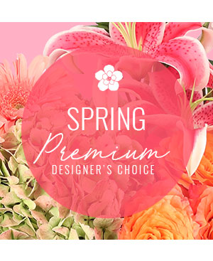Lovely Spring Florals Premium Designer's Choice in Kings Mountain, NC | FLOWERS BY THE FALLS