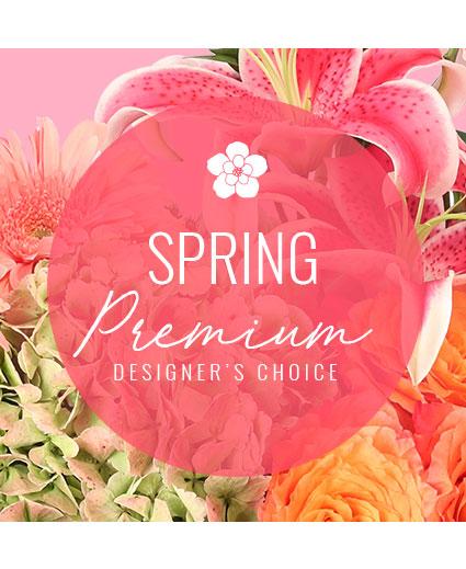 Lovely Spring Florals Premium Designer's Choice