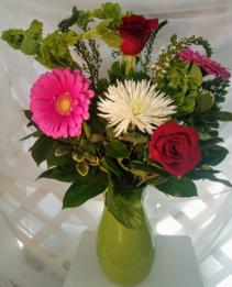 Lovely Surprise Mixed Flower Vase Arrangement