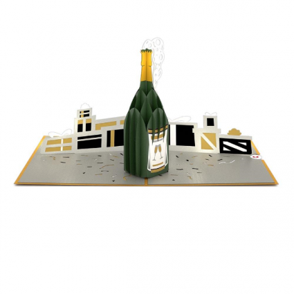 Lovepop ™ - Champagne Celebration Popup Celebration Card