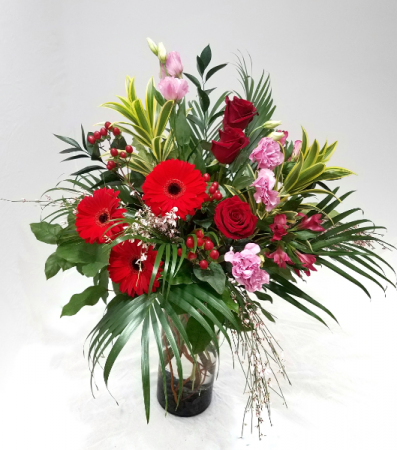 Lovers Lane Vase Arrangement