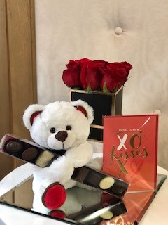 Lover's Package  Flowers, Chocolate, Teddy Bear and Card  in Woodbridge, ON | PRIMAVERA FLOWERS & MORE