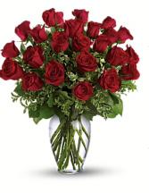 Lovers Roses  Two dozen Roses