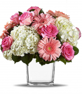Love's Bloom Cube Arrangement