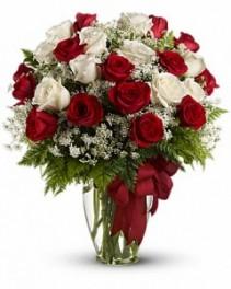 Love's Divine Bouquet-Long Stemmed Roses