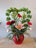 LOVE'S EMBRACE   Flower Shop Design