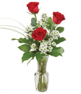 Love's Embrace Vase arrangement