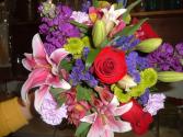 Loves Flowers!