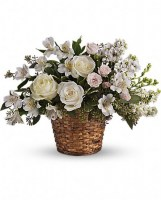 Love's Journey Funeral Basket