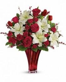 Love's Passion Bouquet by Teleflora Arrangement