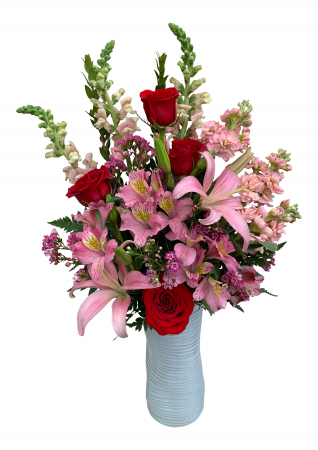 Love's Passion Valentine Arrangement