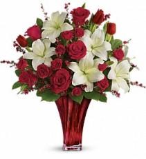 Loves Passion Valentine Bouquet