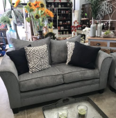Loveseat & Sofa Set (Pillows Included!)