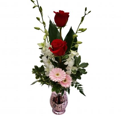 Lovestruck vase arrangement