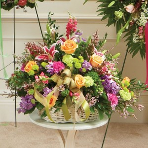 Loving Natural Basket  in Northport, NY | Hengstenberg's Florist
